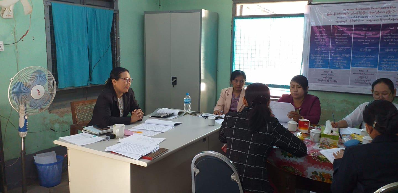 (၂၉.၁.၂၀၂၀) ရက်နေ့ပင်စင်ဉီးစီးဌာန၊ပဲခူးတိုင်းဒေသကြီးဉီးစီးမှူးရုံး၊ပဲခူးမြို့တွင်  ပင်စင်အကျိုးခံစားခွင့်ဆိုင်ရာ ဆွေးနွေးပွဲပြုလုပ်ခြင်း