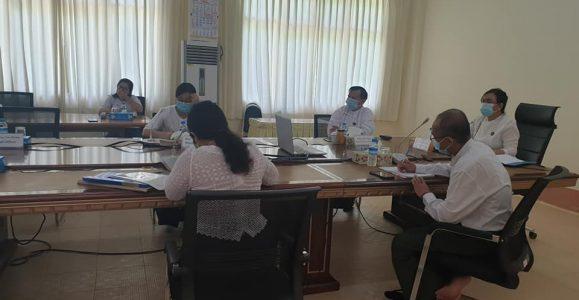 (၄.၆.၂၀၂၀) ရက်နေ့တွင် အိန္ဒိယနိုင်ငံ PFRDA (Pension Fund Regulatory and Development Authority)  မှ ဥက္ကဌ Mr.Supratin နှင့် အိန္ဒိယသံရုံးအဖွဲ့မှ လက်ထောက်အကြီးအကဲဖြစ်သော Dr.Sumit တို့နှင့် Online Video Conferencing ဖြင့်ဆွေးနွေးဆောင်ရွက်ခဲ့ပါသည်။